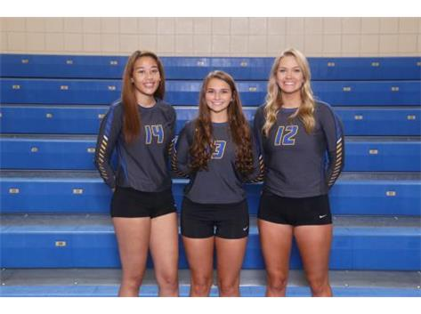 2018 Girls Volleyball Seniors