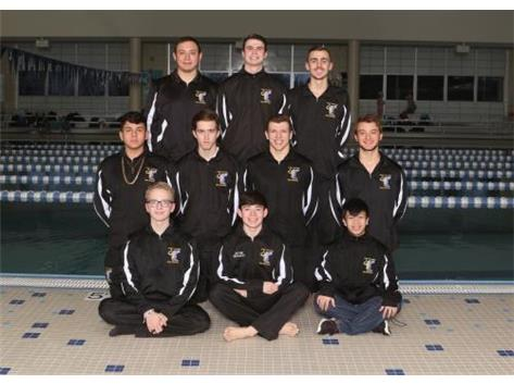 2018-19 Joliet Central Boys Swimming Seniors