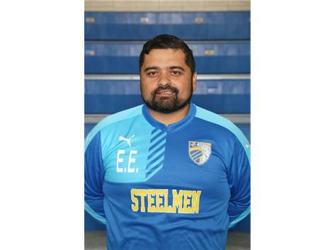 Varsity Coach Erick Estrada