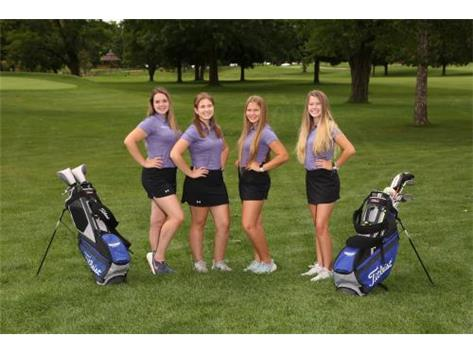 2019 Girls Golf Seniors