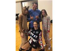 Coach Herrmann and his Xmas Elves!!!