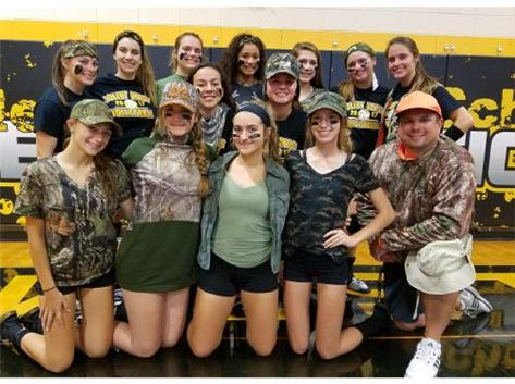 Camo Day - Tigers in Charge!