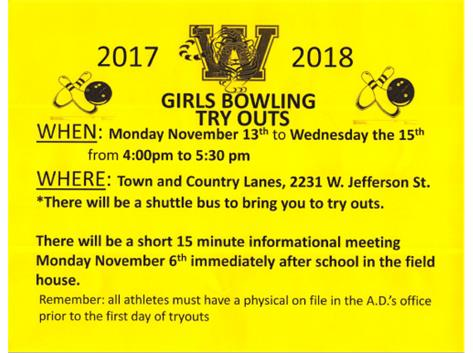 2017 Tryouts