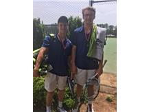 Zach Tapper and Davis Cromer 2018 Regional Doubles Runners-Up and State Doubles Semi-Finalists.