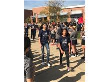 Maggie Spallasso and Jade Unzueta depart for 2019 IESA State.