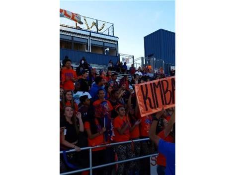 Kimball Student Section