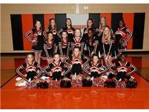 2014-2015 Cheerleaders