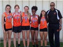 2016 State champ 4x400 Relay