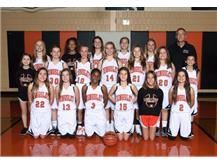 2017-2018 7th grade Girls Basketball