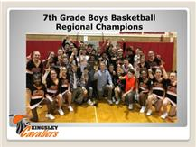 7th grade BBB 2018 Regional Champs