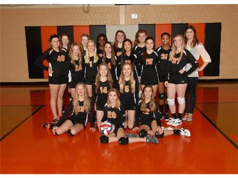 2013-2014 7th grade Volleyball