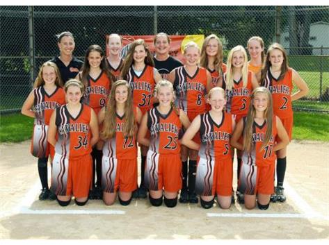 2014 Softball A team