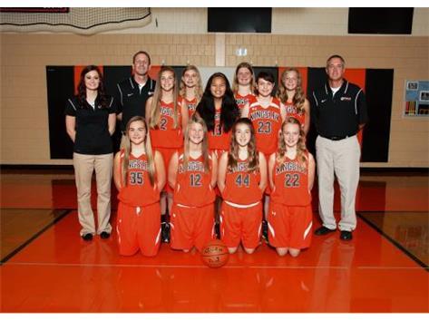 2014-2015 Girls Basketball 8th grade