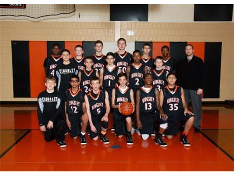 2014-2015 Boys Basketball 8th grade