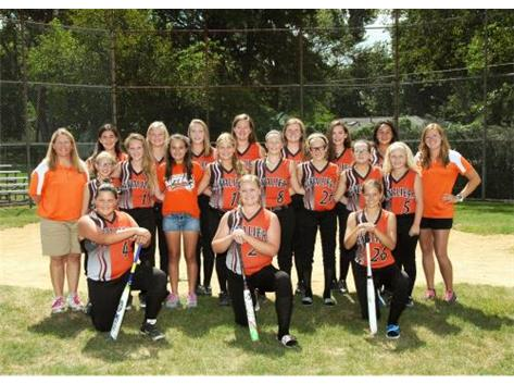 2015 Softball A team