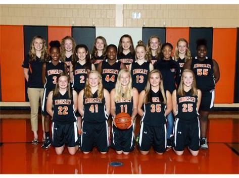 2015-2016 Girls Basketball 8th grade