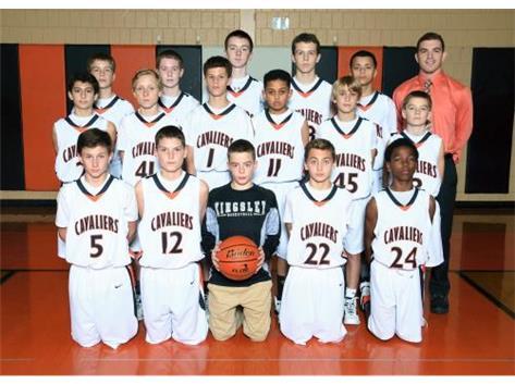 2015-2016 Boys Basketball 7th grade