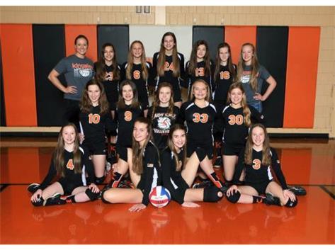 2015-2016 Volleyball 7th grade