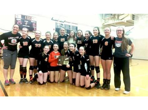 2015-2016 7th Volleyball grade Regional champs