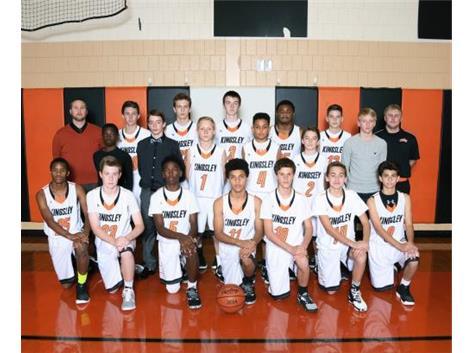 2016-2017 Boys Basketball 8th grade