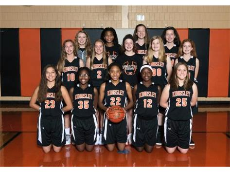 2017-2018 8th grade Girls Basketball
