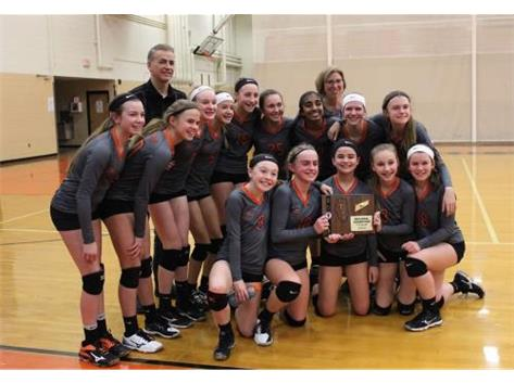 2018 7th grade volleyball Regional champs