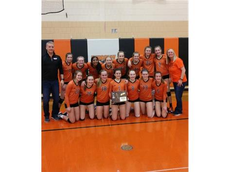 2019 8th grade Volleyball regional champs