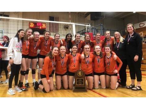 2019 8th grade Volleyball State Champions
