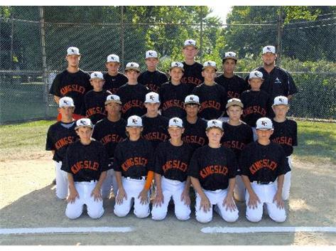 2013 Baseball A team