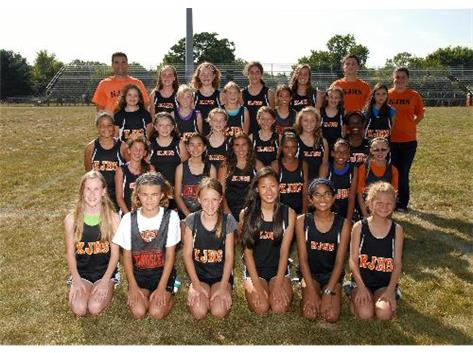 2013 Girls Cross Country