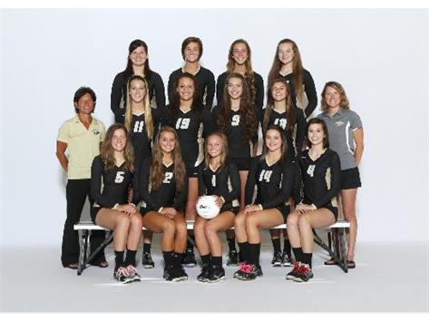 VARSITY GIRLS VOLLEYBALL 2013