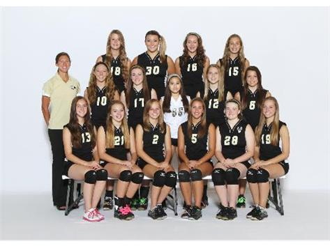 FRESHMAN GIRLS VOLLEYBALL 2013