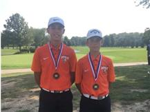 Congrats to Collin & Zack~Boys Golf All Conference
