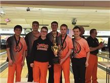 Boys Bowling JV Lincoln-Way Cup Champions