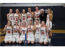 Girls Basketball Oswego East Tourn. Champions