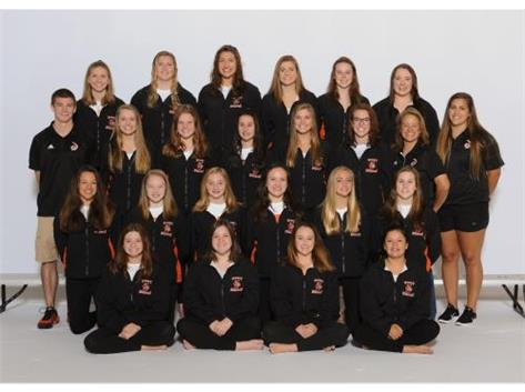 GIRLS VARSITY SWIMMING 2017