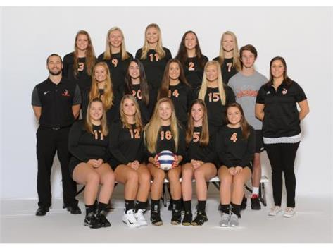 GIRLS VARSITY VOLLEYBALL 2017