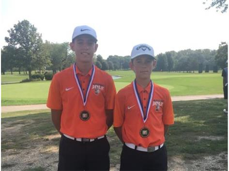 Congrats to Collin & Zack~Boys Golf All Conference