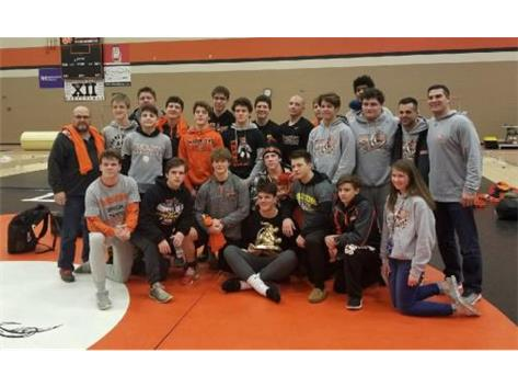 Wrestling-Don Flavin DeKalb Team Tourn. Champions