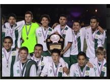 This blast from the past is a picture of the 2008 boys' soccer team that eventually won the city championship.