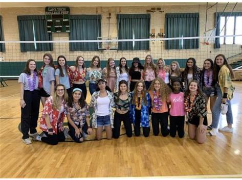 Hawaiian Theme Day!