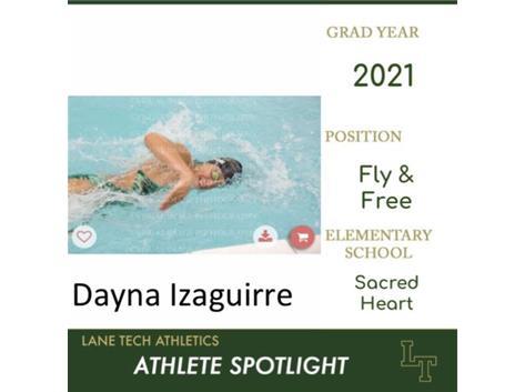 Dayna is swim-pressive!