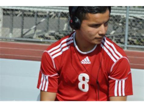 2013-2014 Boys Varsity captain  Jose Salazar