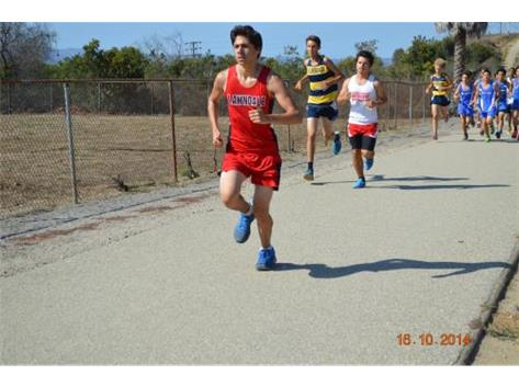 Varsity Cross-Country (Thomas Aguilera)