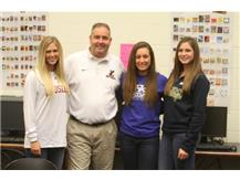 Congratulations Tara, Hannah, and Kim.  Best of Luck in college