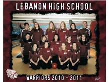 The 2010-2011 LHS Girls made a 2nd straight district tourney trip to Eastern Lanes in Middletown finishing 20th
