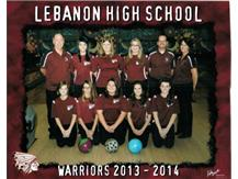 The 2013-2014 LHS girls qualified for districts and came with 51 pins of advancing to state for the 1st time ever. It was the best season ever by the LHS girls bowling team!