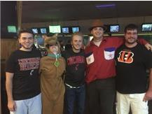 Five Warrior bowling alums took part in the BOOLING fundraiser @ Eastern Lanes. Thanks to Bailey Perkins, Alex Shook, Michael Sapp, Lloyd Verret, and Travis Miller for your continued support of Lebanon bowling.