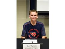 Sam Duncan-  Cross Country University of Dayton