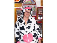 Becky Taulbee ... our Booling Organizer did an udderly fantastic job with our fundraiser